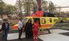 Двух человек госпитализировали в Петербург на вертолетах санавиации