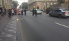На Каменноостровском проспекте мотоциклист сбил пешехода