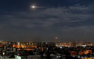 Сирийские ПВО отразили атаки в небе над Дамаском