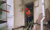На пожаре под Выборгом почти полностью сгорел двухэтажный дом