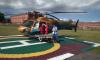 Из Выборга в Петербург на вертолете доставили подростка в тяжелом состоянии