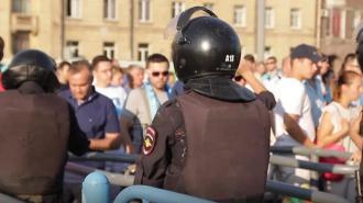 МВД России призвало россиян отказаться от участия в несогласованных акциях