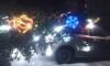 В посёлке Ленинское на автомобиль упала новогодняя ёлка