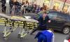 На Лиговском мотоцикл сбил перебегающего на красный ребенка