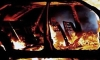 На Куйбышева ночью сгорела полицейская машина