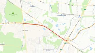 На КАД от Таллинского до Красносельского шоссе перекроют две из трех полос движения