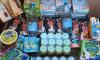 В продуктовый набор для многодетной семьи попали соусы и каши для младенцев