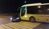 В Красногвардейском районе иномарка столкнулась с автобусом , есть пострадавшие