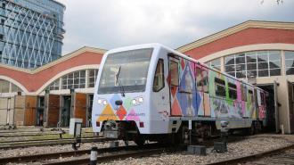 В столичной подземке запустили тематический поезд с народными промыслами