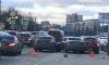 Тройное ДТП помешало проезду машин на Пискаревском проспекте