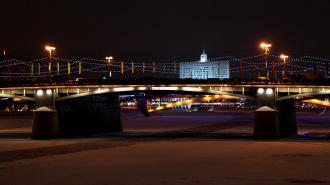 Акт самосожжения у Белого дома в Москве