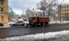 Ночью с улиц Петербурга вывезли почти 1,4 тыс. кубометров снега