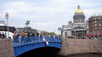 Синий мост на Исаакиевской площади закроют на год