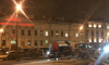 В ДТП на Тучковом мосту положили светофор
