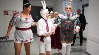 Медики из Европы и Украины борются за здоровье Верки Сердючки