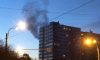 На проспекте Тореза загорелась жилая многоэтажка