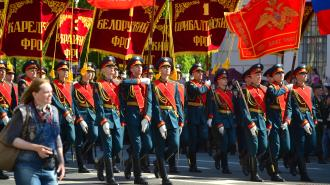 Очередная тренировка к Параду Победы состоялась в Петербурге