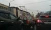 Оборвавшийся провод трамвайной линии повредил грузовик на Александра Невского