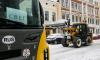 В Выборге привлекаются дополнительные бригады и техника для уборки дорог от снега