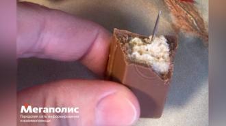 В Петербурге ребенок нашел иголку в шоколадке