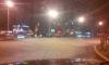 В Петербурге BMW снес светофор на перекрестке проспекта Большевиков и Коллонтай