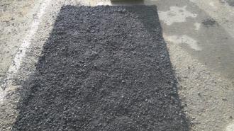 Дорожники обновили 2 тысячи квадратных метров асфальта в Ленобласти
