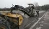 В Выборгском районе восстанавливают проблемные дороги