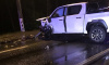На Зеленогорском шоссе ночью столкнулись два автомобиля