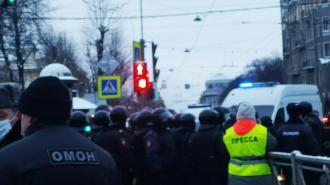 В Петербурге планируют провести протест в поддержку Навального