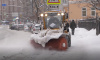 За сутки с улиц Петербурга вывезли более 62 тысяч кубометров снега
