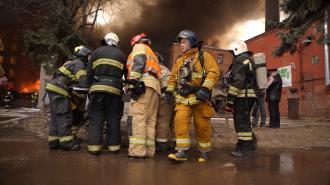 """СМИ: Пожар на """"Невской мануфактуре"""" мог начаться из-за поджога"""