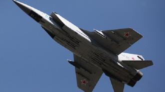 МиГ-31 сопроводил американский самолет-разведчик над Чукотским морем