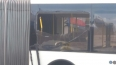 На Заневском проспекте «рог» троллейбуса разбил окно ...