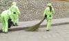 Более 2758 тонн пыли вывезли с улиц Петербурга за неделю