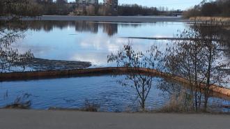В Выборге бухту Радуга очистили от загрязнений