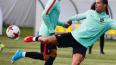 Поклонников не пустили к Роналду и сборной Португалии ...