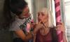 Анна Хилькевич устроила фотосессию в стиле клипов Sia