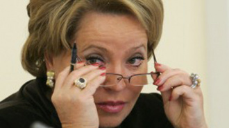Центризбирком: Раньше осени Валентина Матвиенко спикером СовФеда не станет