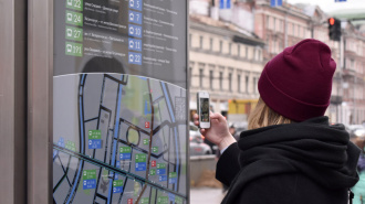 В Петербурге появились новые информационные стойки