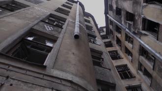 В ночь на воскресенье в Петербурге опять горел дом Басевича