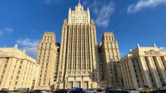 В МИД прокомментировали ограничение прохода судов через Керченский пролив