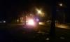 После аварии на проспекте Тореза машина сотрудника МЧС выгорела дотла