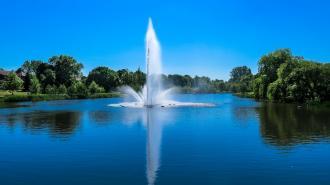 В Ленобласти пьяный мужчина утонул, пытаясь доплыть до фонтана в пруду