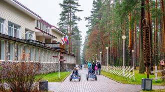 Рощинский проект благоустройства парковой зоны отмечен Минстроем России