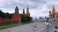 У московского Кремля неизвестный открыл огонь в воздух