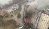 В высотке на Рыбацком проспекте горел мусор на балконе
