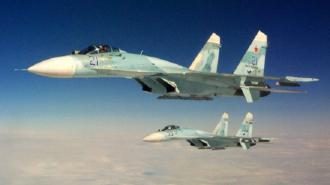 Российские истребители сопроводили самолеты Франции над Черным морем