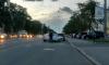 Авария на Энгельса: белая иномарка сбила мотоциклиста