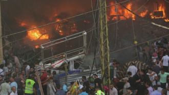 Террорист-смертник подорвался в машине: 20 погибших