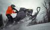 В поселке Грибное угнали снегоболотоход за 750 тысяч рублей